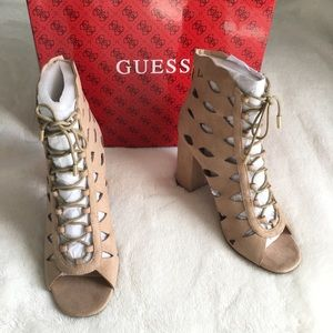 Guess Lace Up Heels
